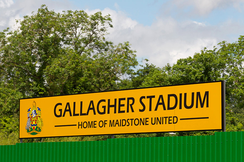 Gallagher Stadium shortlisted in The Stadium Business Awards