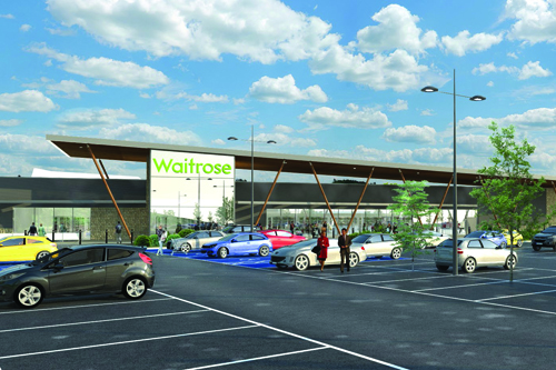 Maidstone could be home to two Waitrose stores
