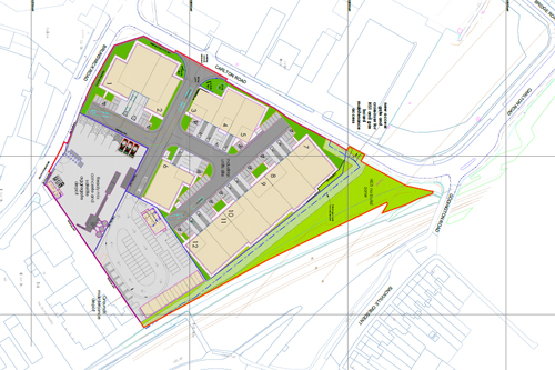Plans submitted for redevelopment of Rimmel site in Ashford