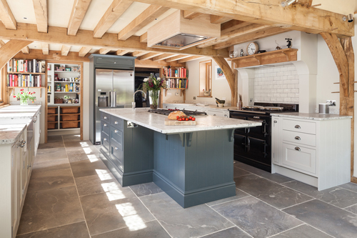 Kentish Ragstone Floor Tiles Help To Create A Traditional Kentish Kitchen Gallagher Group