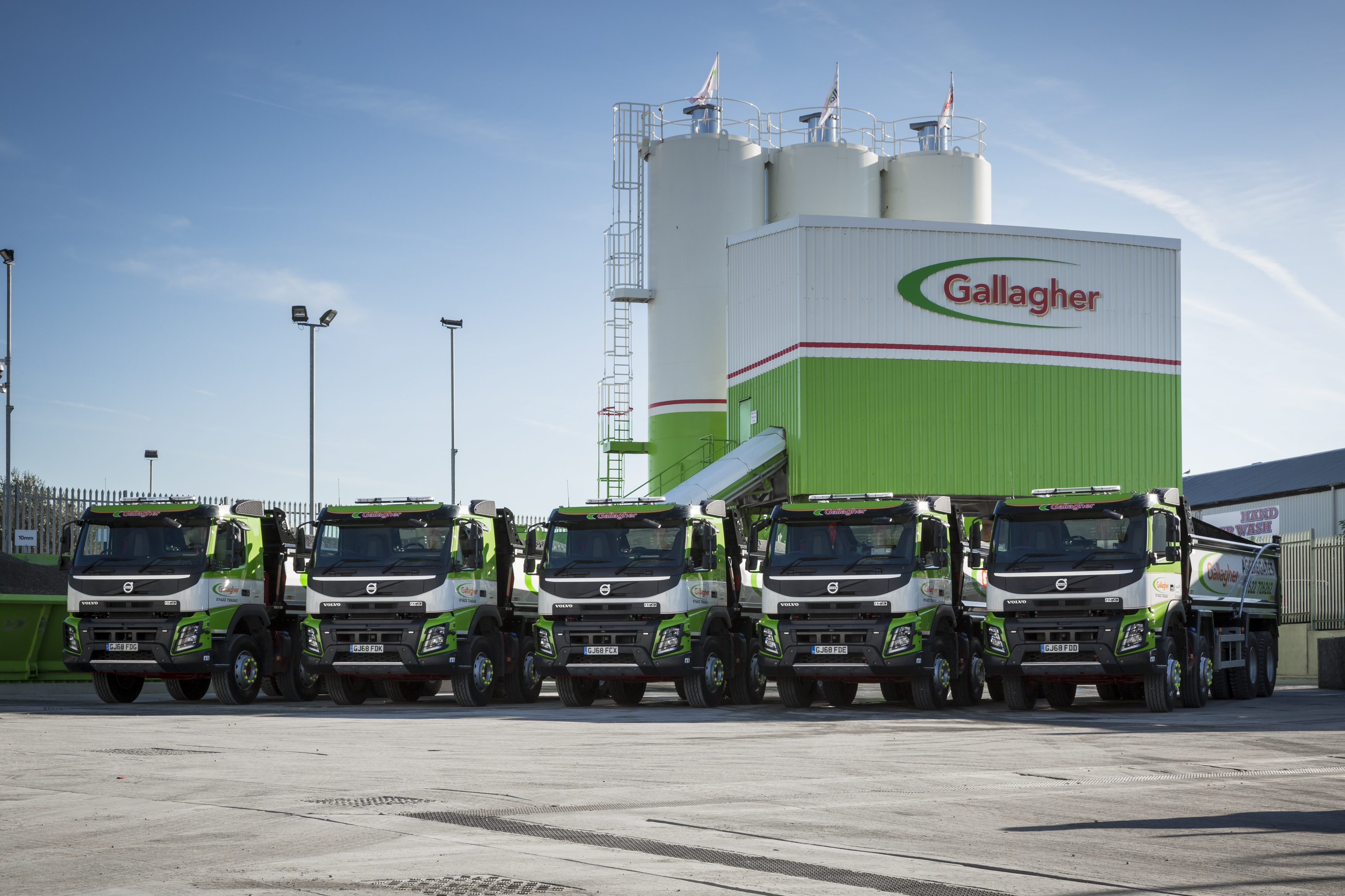New tippers for Gallagher Aggregates