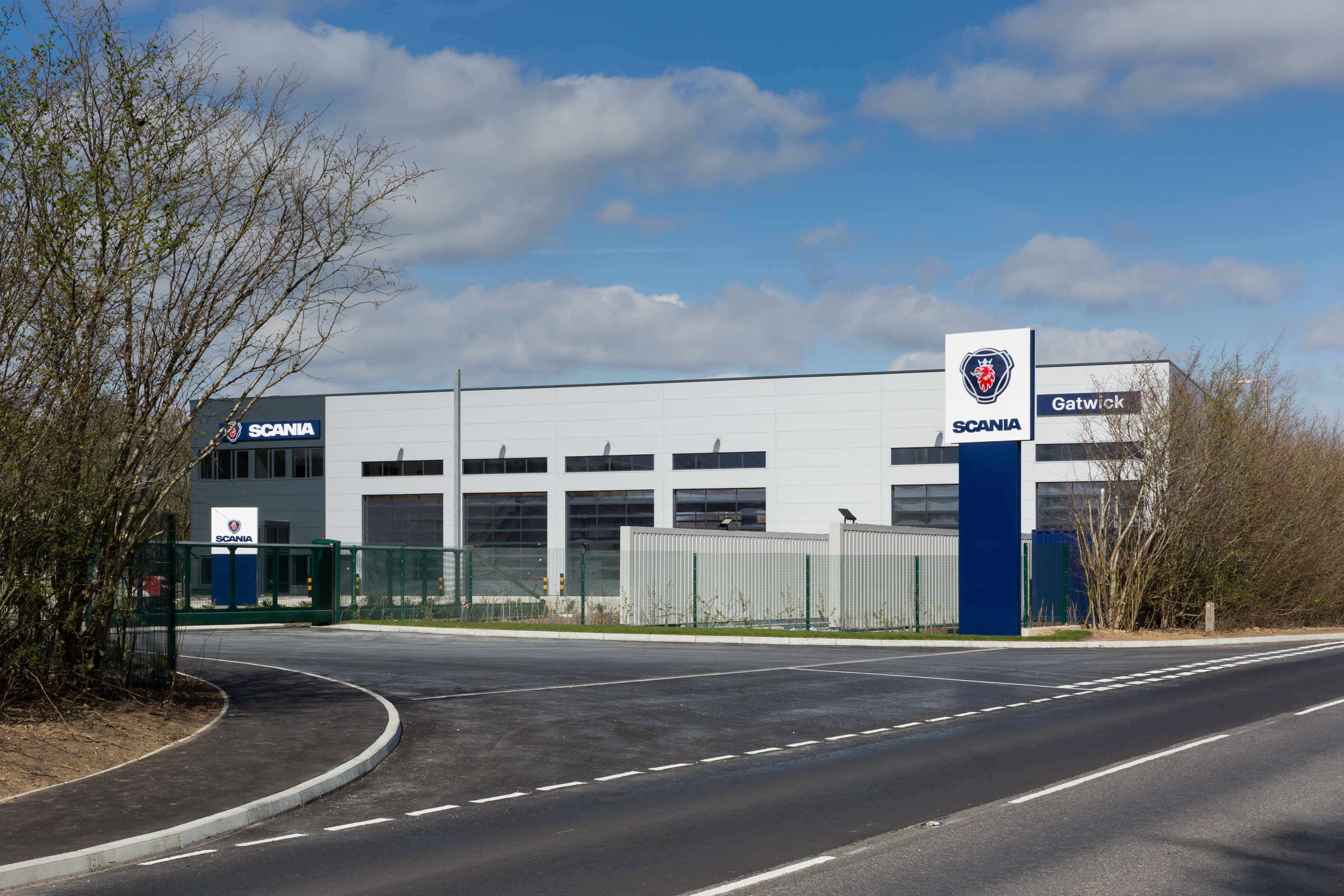 Scania's new state-of-the-art Gatwick premises inaugurated